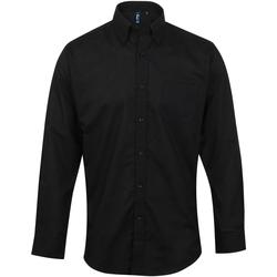 textil Hombre Camisas manga larga Premier PR234 Negro