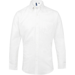 textil Hombre Camisas manga larga Premier PR234 Blanco