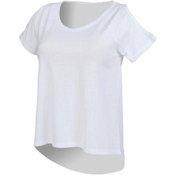 textil Mujer Camisetas manga corta Skinni Fit SK233 Blanco