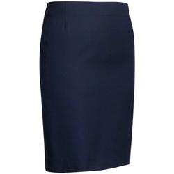 textil Mujer Faldas Brook Taverner Sigma Straight Azul marino