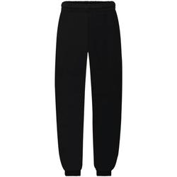 textil Niños Pantalones de chándal Fruit Of The Loom SS823 Negro