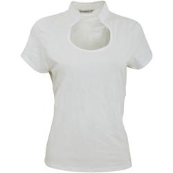textil Mujer Camisetas manga corta Kustom Kit KK755 Blanco