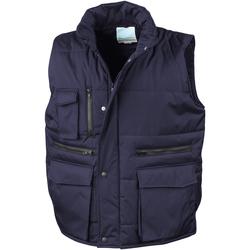 textil Hombre Chaquetas de punto Result R127A Azul marino