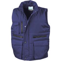 textil Hombre Chaquetas de punto Result R127A Azul