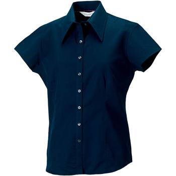 textil Mujer Camisas Russell J955F Azul marino