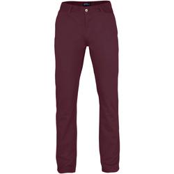 textil Hombre Pantalones chinos Asquith & Fox AQ050 Vino