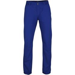 textil Hombre Pantalones chinos Asquith & Fox AQ050 Azul  Royal