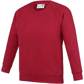textil Niños Sudaderas Awdis AC01J Rojo