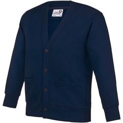 textil Niños Chaquetas de punto Awdis Academy Azul marino