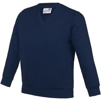 textil Niños Sudaderas Awdis AC03J Azul marino