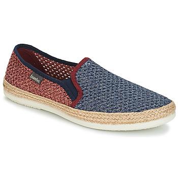 Zapatos Hombre Alpargatas Bamba By Victoria ANDRE ELASTICOS REJILLA BICO Azul / Rojo