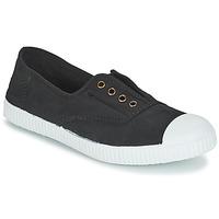 Zapatos Zapatillas bajas Victoria INGLESA ELASTICO TINTADA Negro