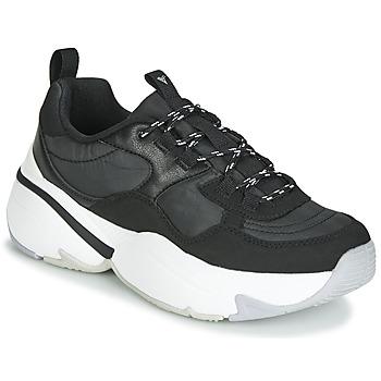 Zapatos Mujer Zapatillas bajas Victoria AIRE NYLON/SERRAJE PU Negro