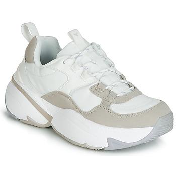 Zapatos Mujer Zapatillas bajas Victoria AIRE NYLON/SERRAJE PU Blanco