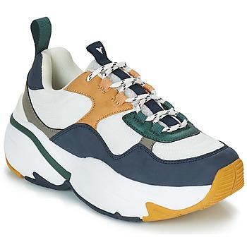 Zapatos Mujer Zapatillas bajas Victoria SNEAKER MALLA/MULTIMATERIAL Blanco / Marino