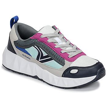 Zapatos Mujer Zapatillas bajas Victoria ARISTA MULTICOLOR Blanco / Rosa