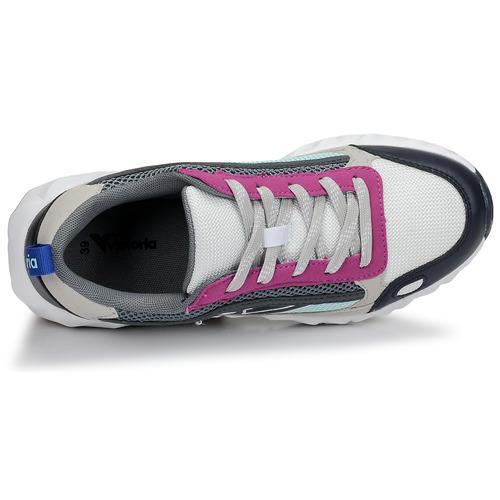 Mujer Arista Bajas Zapatillas Victoria Multicolor BlancoRosa Zapatos BeCrWxdo