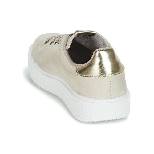 Beige Relieve Zapatos Antelina Bajas Mujer Victoria Utopia Zapatillas OXuwiZklPT