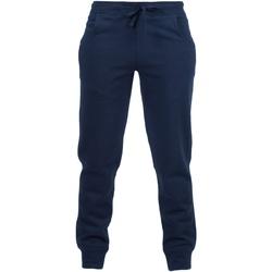 textil Niños Pantalones de chándal Skinni Fit SM425 Azul marino