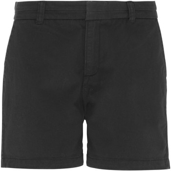 textil Mujer Shorts / Bermudas Asquith & Fox AQ061 Negro