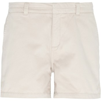 textil Mujer Shorts / Bermudas Asquith & Fox AQ061 Beige