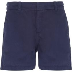 textil Mujer Shorts / Bermudas Asquith & Fox AQ061 Azul marino
