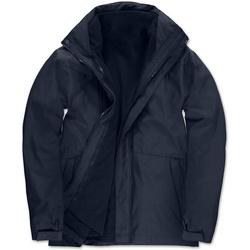 textil Hombre Parkas B And C Corporate Azul marino