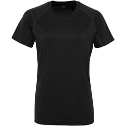 textil Mujer Camisetas manga corta Tridri Panelled Negro