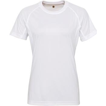 textil Mujer Camisetas manga corta Tridri Panelled Blanco