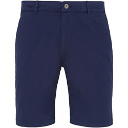 textil Hombre Shorts / Bermudas Asquith & Fox AQ051 Azul marino