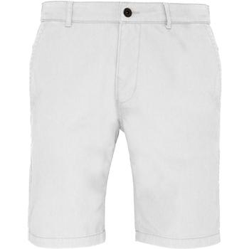 textil Hombre Shorts / Bermudas Asquith & Fox AQ051 Blanco