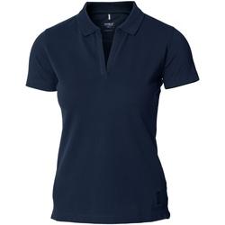 textil Mujer Polos manga corta Nimbus Harvard Azul marino