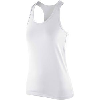 textil Mujer Camisetas sin mangas Spiro S281F Blanco