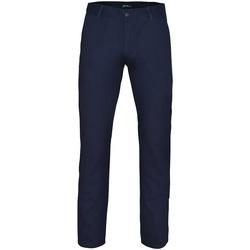 textil Hombre Pantalones chinos Asquith & Fox AQ052 Azul marino