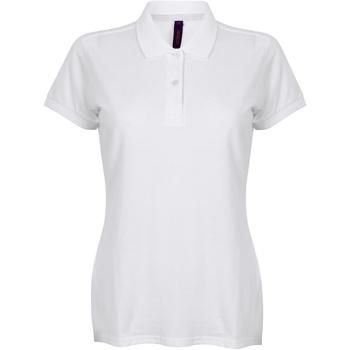textil Mujer Polos manga corta Henbury HB102 Blanco