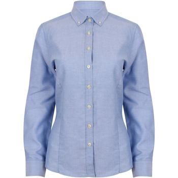 textil Mujer Camisas Henbury HB513 Azul