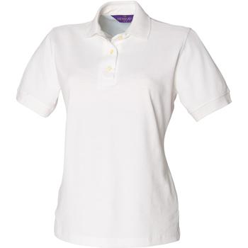 textil Mujer Polos manga corta Henbury HB121 Blanco