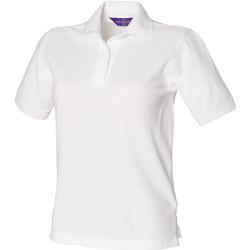 textil Mujer Polos manga corta Henbury HB401 Blanco