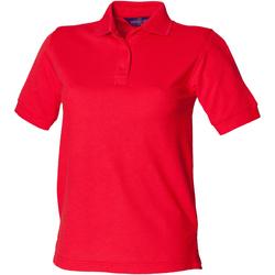textil Mujer Polos manga corta Henbury HB401 Rojo