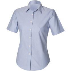 textil Mujer Camisas Henbury HB516 Azul