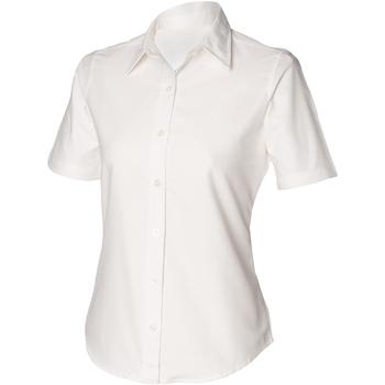 textil Mujer Camisas Henbury HB516 Blanco