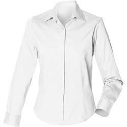 textil Mujer Camisas Henbury HB551 Blanco