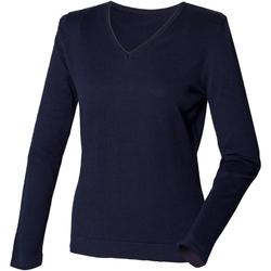 textil Mujer Jerséis Henbury HB721 Azul marino
