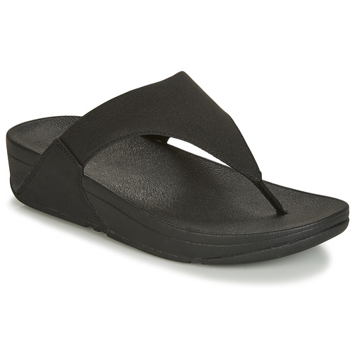 Zapatos Mujer Chanclas FitFlop LULU SHIMMERLUX Negro