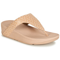 Zapatos Mujer Chanclas FitFlop LOTTIE CHEVRON SUEDE Rosa
