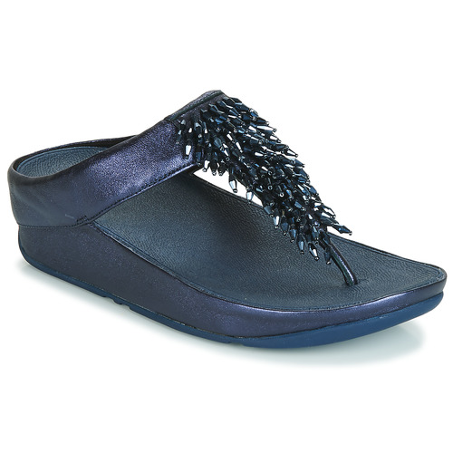 Zapatos Mujer Chanclas FitFlop RUMBA TOE THONG SANDALS Azul