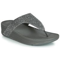 Zapatos Mujer Chanclas FitFlop LOTTIE GLITZY Plata