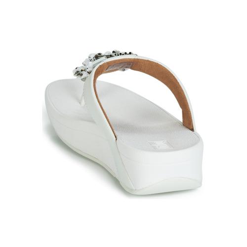 Treasure Chanclas Fitflop Blanco Mujer Zapatos Jive L4cAj3Rq5