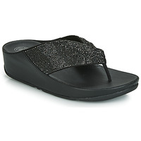 Zapatos Mujer Chanclas FitFlop TWISS CRYSTAL Negro