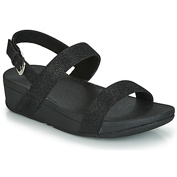 Zapatos Mujer Zuecos (Mules) FitFlop LOTTIE GLITZY BACKSTRAP SANDAL Negro